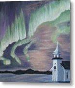 Amazing Northern Lights Metal Print
