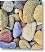 Amazing Pebbles Metal Print
