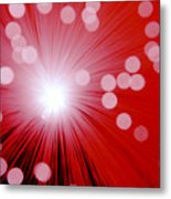 Amazing Red Metal Print