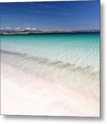 Amazingly Clear Water Of Dog's Bay Roundstone Ireland Metal Print