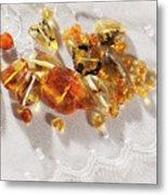Amber #8341 Metal Print