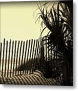 Amber Shadows Metal Print