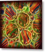 Amber Waves Marles Metal Print