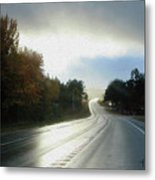 Ambient Autumn Metal Print