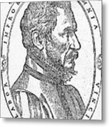 Ambroise Pare, French Surgeon, 1561 Metal Print