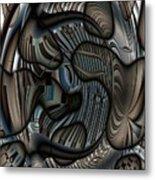 Ameboids Metal Print