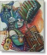America In Chains Metal Print by Lee Anne Stieglitz
