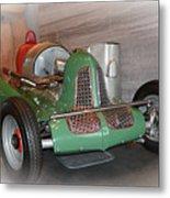 America On Wheels Midget Racer Metal Print