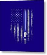 America War Metal Print
