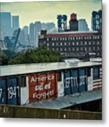 America Will Not Forget Metal Print