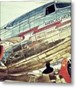 American Airlines Metal Print by AK Photography