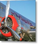 American Airlines Flagship Metal Print
