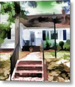 American Beautiful House Metal Print