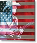 American Bluesman Stevie Ray Vaughan Metal Print