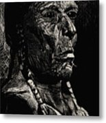American Chief Metal Print