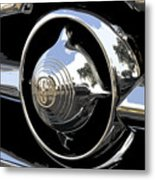 American Chrome Metal Print