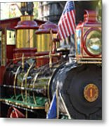 American Dream Train Metal Print