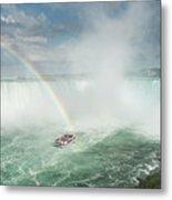 Horseshoe Waterfall At Niagara Falls Metal Print