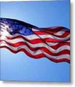 American Flag Fort Sumter Metal Print