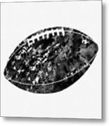 American Football-black Metal Print