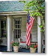 American Front Porch Metal Print