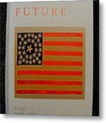 American Future Metal Print