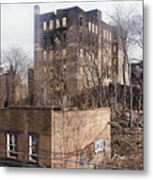 American Ghetto - The South Bronx In New York City Metal Print