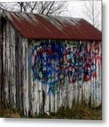 American Graffiti 4   Zig Zag Man Metal Print