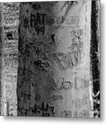 American Graffiti 5  Tattoos For Trees Metal Print