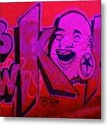 American Graffiti 7 The Star Gauger Metal Print