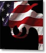 American Gun Metal Print