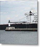 American Integrity Ship Metal Print