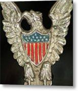 American Metal Eagle Metal Print