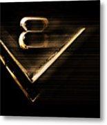 American Muscle V8 Metal Print
