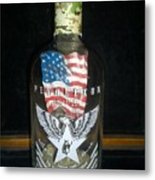 American Pendleton Commemorative Bottle Metal Print