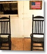American Porch Metal Print