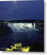 American Side Of Niagara Falls, Seen Metal Print