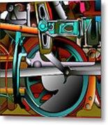 American Steam Metal Print