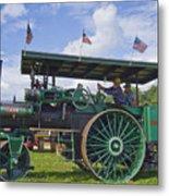 American Steam Roller Metal Print