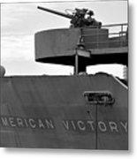 American Victory Ship Metal Print