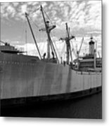 American Victory Ship Tampa Bay Metal Print by David Lee Thompson