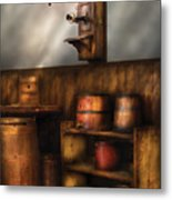 Americana -  In The Corner Of The General Store  Metal Print