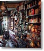 Americana - Store - Corner Grocer  Metal Print