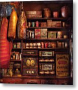 Americana - Store - The Local Grocers  Metal Print