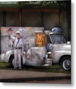 Americana -  We Sell Ice Cream Metal Print by Mike Savad
