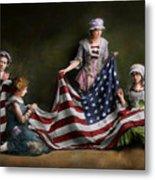 Americana - Flag - Birth Of The American Flag 1915 Metal Print