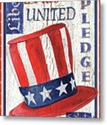 Americana Patriotic Metal Print