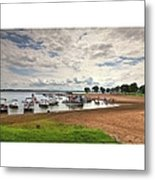 Americans At Play  South Marcum Metal Print