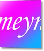 Ameynra - Logo 003 Metal Print