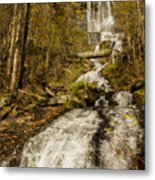 Amicola Falls Gushing Metal Print
